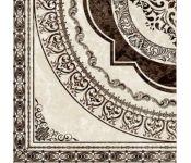 Керамическая плитка Golden Tile Вулкано Декор бежевый Д11301