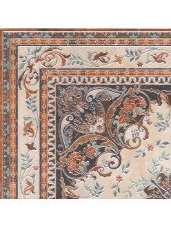 Керамическая плитка KERAMA MARAZZI Мраморный дворец Декор ковер угол лаппатированный 40,2х40,2 HGD\A174\SG1550L