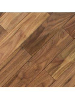 Штучный паркет Magestik Floor под лаком Орех Американский Натур 350х70х22