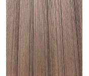 Террасная доска из ДПК Дарней Темный шоколад-76 3000х150х25 мм