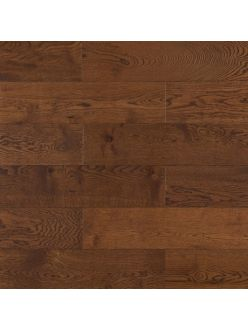 Массивная доска Amber Wood Дуб Шоколад (ширина 120 мм)