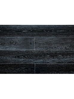 Массивная доска Amber Wood Дуб Черно-белый (ширина 120 мм)