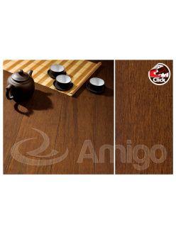 Массивная доска Amigo HiTech Бамбук Бретань Click