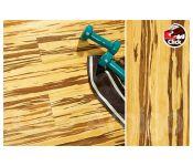 Массивная доска Amigo HiTech Бамбук Зебра Click