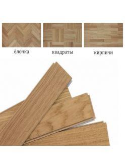 Паркетная доска Golvabia Дуб Art для укладки елочкой, квадратами