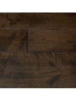 Массивная доска Magestik Floor - Дуб Бренди (браш) под лаком (300-1800)х125х18