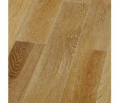 Массивная доска Magestik Floor - Дуб Беленый (брашированная) лак (300-1800)х125х18