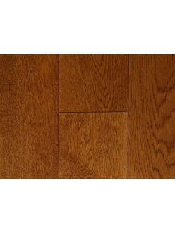 Массивная доска Magestik Floor - Дуб Коньяк (брашированная) под маслом (300-1500)х125х18
