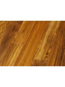 Массивная доска Magestik Floor - Тик Индонезийский под лаком (400-1500)х120х18