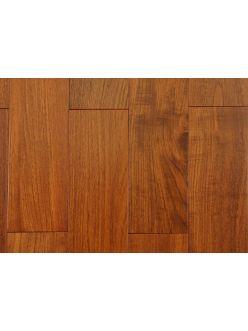 Массивная доска Magestik Floor - Тик Бирманский под лаком 910х122х18