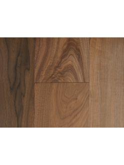 Массивная доска Magestik Floor - Орех Американский Селект под лаком (300-1800)x165x22