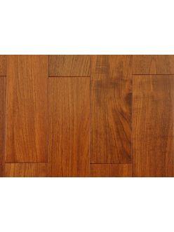 Массивная доска Magestik Floor - Тик Бирманский под лаком 910х128х18