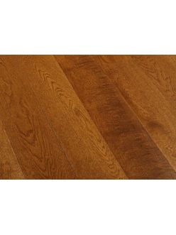Массивная доска Magestik Floor - Дуб Коньяк (брашированная) под маслом (400-1800)х180х20