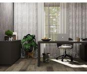 Ламинат SPC Stone Floor 1519-8 НР Дуб Брауни коричневый