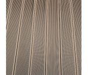 Террасная доска из ДПК Wooden Deck Коричневый-02 3000х153х28 мм