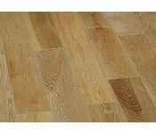 Массивная доска Magestik Floor - Дуб Беленый (брашированная) лак (400-1800)х150х18